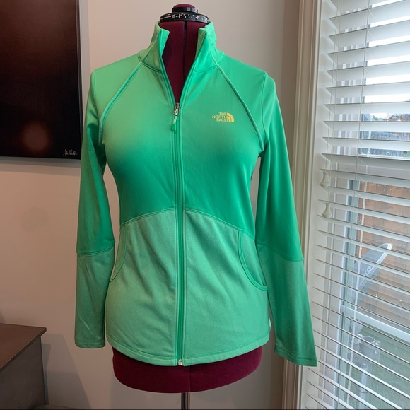 North Face Green Track Jacket